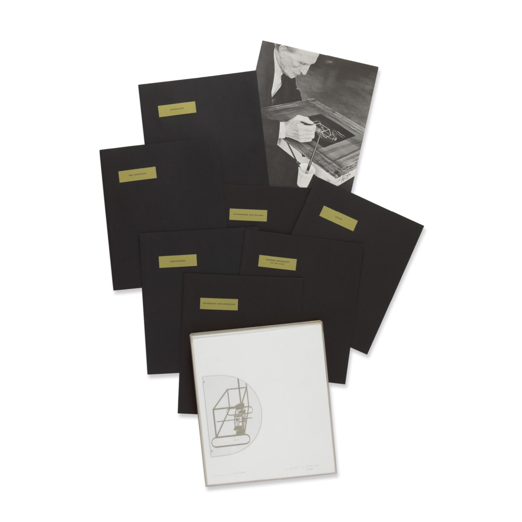 MARCEL DUCHAMP | À L'INFINITIF (THE WHITE BOX) (S. 637)