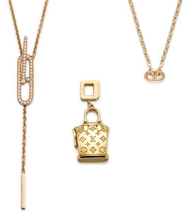 LOUIS VUITTON AND HERMÈS | GROUP OF JEWELLERY |  路易威登及愛馬仕| 珠寶首飾