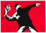 BANKSY | LOVE IS IN THE AIR