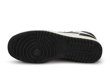 View 7. Thumbnail of Lot 11. Nike Air Jordan 1 High OG (1985) 'Black & White'  Size 8.5.
