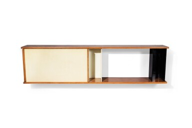 View 1. Thumbnail of Lot 17. Hanging cabinet, 1957.