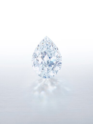 View 1. Thumbnail of Lot 1. An Exceptional and Magnificent Unmounted Diamond | 無與倫比並極其重要 101.38克拉 梨形 D色 完美無瑕 Type IIa 巨鑽.