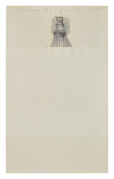 View 1. Thumbnail of Lot 427. JIM DINE | SHOWER #2 .