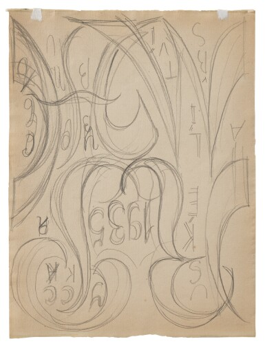 View 2. Thumbnail of Lot 45. NATALIA GONCHAROVA | DESIGN FOR THE COMMEDIA DELL'ARTE (A DOUBLE-SIDED WORK).