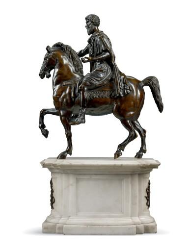 ITALIAN, EARLY 19TH CENTURY, AFTER THE ANTIQUE   MARCUS AURELIUS