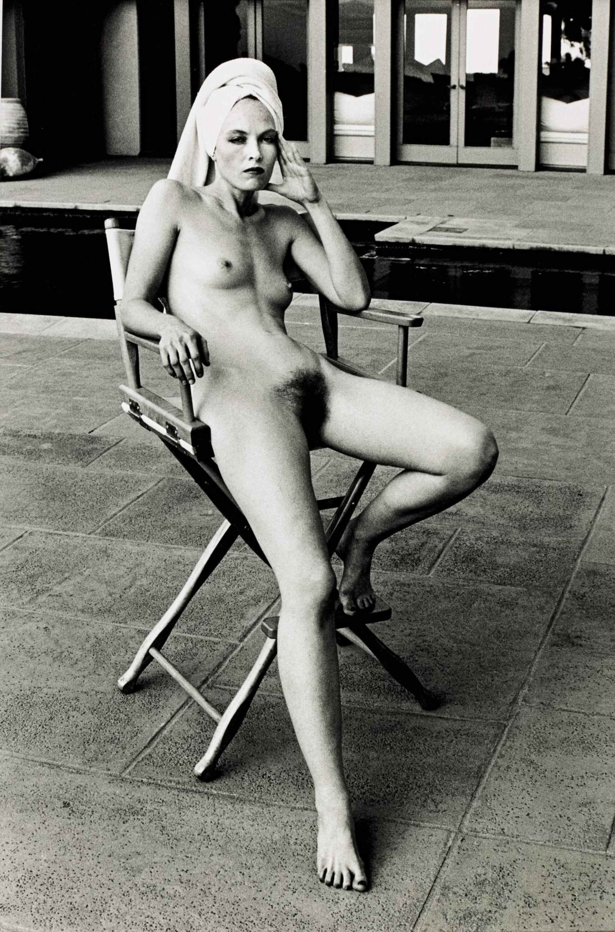 View 1 of Lot 66. HELMUT NEWTON | 'MISS LIVINGSTONE (SITTING)', BEVERLY HILLS, 1981.