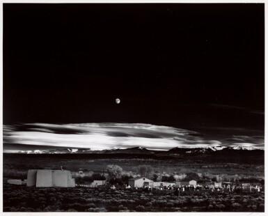 View 2. Thumbnail of Lot 30. ANSEL ADAMS  |  'MOONRISE', HERNANDEZ, NEW MEXICO, 1941.
