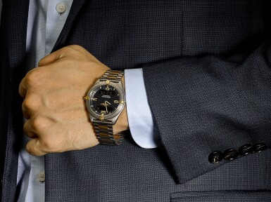 View 4. Thumbnail of Lot 8266. BREITLING | AEROSPACE, REFERENCE F 56060, A TITANIUM CALENDER CHRONOGRAPH WRISTWATCH WITH BRACELET, ALARM AND DUAL TIME ZONE, CIRCA 2002.