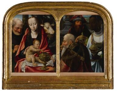 View 2. Thumbnail of Lot 1. Adoration of the Magi.