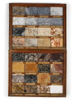 A COLLECTION OF SIX SPECIMEN MARBLE PANELS,  FRENCH, EARLY 19TH CENTURY