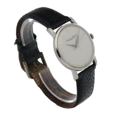 View 3. Thumbnail of Lot 175. STAINLESS STEEL WRISTWATCH CIRCA 1956.