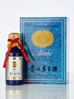 2008年產國酒茅台香港之友協會專用茅台酒50年(藍茅)Kweichow Moutai HK Friends Of Moutai Special Edition Aged 50 Years 2008