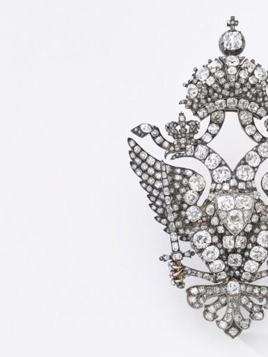 View 12. Thumbnail of Lot 166. Important diamond brooch, late 19th century | 鑽石別針,十九世紀末.