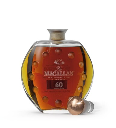 The Macallan In Lalique - Curiously Small Stills Decanter, 60 Years Old