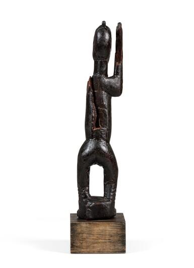 View 5. Thumbnail of Lot 15. Statue, Dogon Djennenké, Mali   Dogon Djennenke figure, Mali.