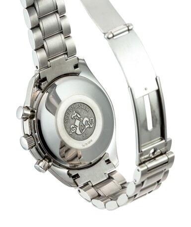 View 3. Thumbnail of Lot 608. OMEGA   SPEEDMASTER, REFERENCE 3513.50,  A STAINLESS STEEL CHRONOGRAPH WRISTWATCH WITH DATE AND BRACELET, CIRCA 2008.