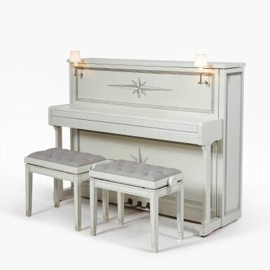 View 1. Thumbnail of Lot 133. Upright Piano .