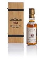 THE MACALLAN FINE & RARE 30 YEAR OLD 55.9 ABV 1971