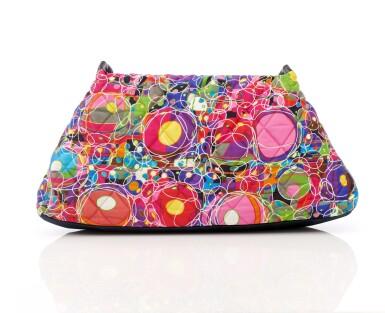 View 2. Thumbnail of Lot 35. 'Kaleidoscope' printed silk shoulder bag.