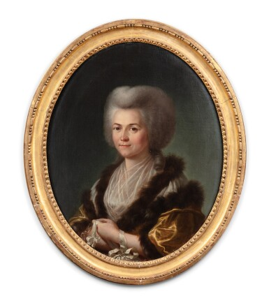 View 2. Thumbnail of Lot 190. Portrait of a young lady.