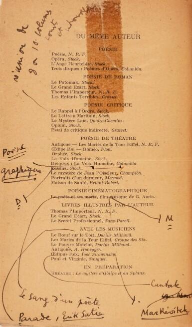 View 2. Thumbnail of Lot 143.  Morceaux choisis. 1932. Rel. de Nobuko Kiyomiya. Ex. du service de presse, avec envoi à sa mère..