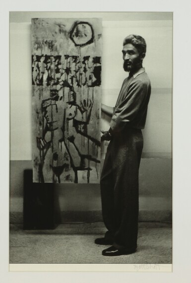 View 7. Thumbnail of Lot 98. JYOTI BHATT | UNTITLED (ELEVEN ICONIC PHOTOS OF ARTISTS).