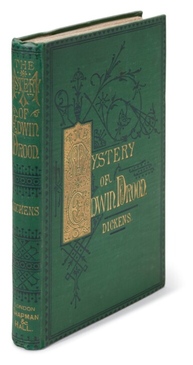 Dickens, The Mystery of Edwin Drood, 1870, first edition in book form