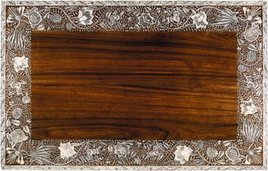 View 9. Thumbnail of Lot 175. AN ANGLO-INDIAN IVORY INLAID ROSEWOOD WRITING OR DRESSING TABLE, VIZAGAPATAM, MID-18TH CENTURY.
