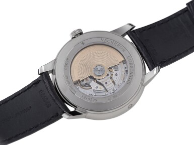 View 3. Thumbnail of Lot 5. VACHERON CONSTANTIN | PATRIMONY, REF 86020 WHITE GOLD WRISTWATCH WITH DAY AND DATE CIRCA 2012.