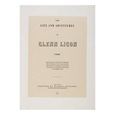 GLENN LIGON | NARRATIVES