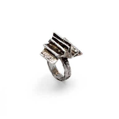 Arthur Luiz Piza, Silver ring [Bague argent]