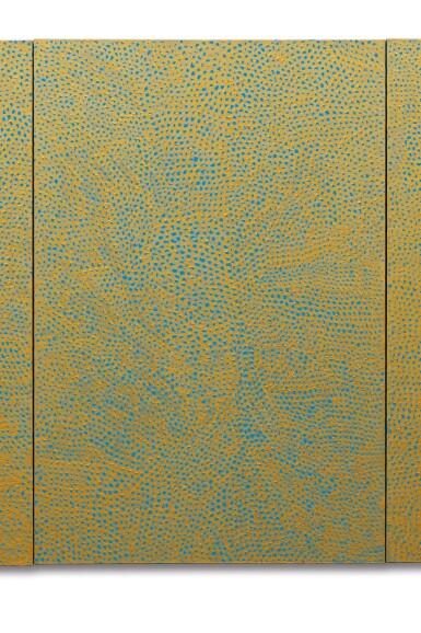 View 4. Thumbnail of Lot 126. YAYOI KUSAMA | INFINITY NETS (G.E.R) .