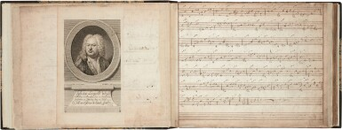 View 3. Thumbnail of Lot 65. Lute. Important manuscript of German, Austrian and French lute music, including by S.L. Weiss, c.1750 or later?.