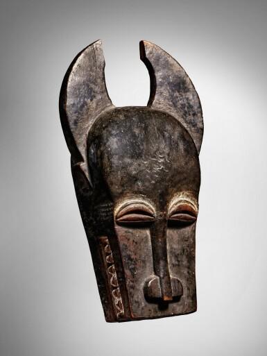 View 2. Thumbnail of Lot 62. Baule Mask, Côte d'Ivoire.