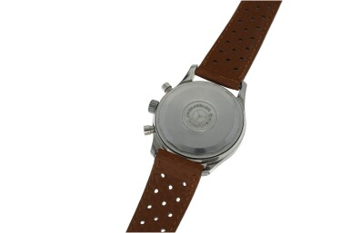 View 4. Thumbnail of Lot 212. RODANIA  | REFERENCE 5621H A STAINLESS STEEL CHRONOGRAPH WRISTWATCH, CIRCA 1965.