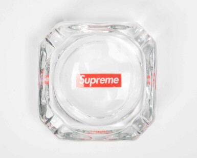 View 7. Thumbnail of Lot 73. GLASS, PLASTIC & CERAMIC SUPREME ASHTRAYS [7 PIECES].