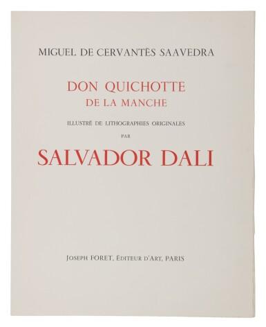View 13. Thumbnail of Lot 79. Pages choisies de Don Quichotte de la Manche (Michler/Löpsinger 1001-1012; Field 57-1).