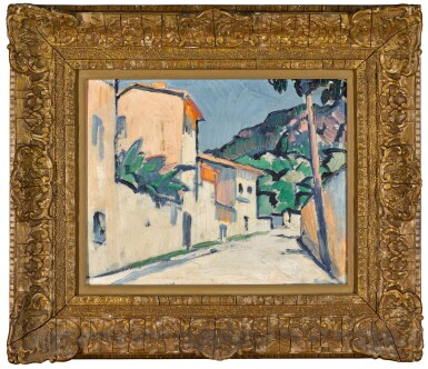 View 2. Thumbnail of Lot 3. Street in Cassis.