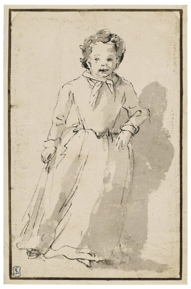 View 2. Thumbnail of Lot 256. A Standing Child.