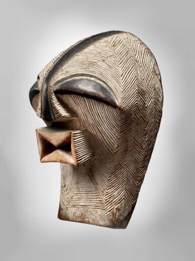 View 2. Thumbnail of Lot 76. Songye Mask, Democratic Republic of the Congo.