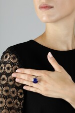 IMPORTANT SAPPHIRE AND DIAMOND RING