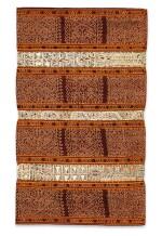 Jupe de femme tapis, Lampung, Sumatra, Indonésie, fin du 19e siècle   Woman's wrapper tapis, Lampung, Sumatra, Indonesia, late 1880s