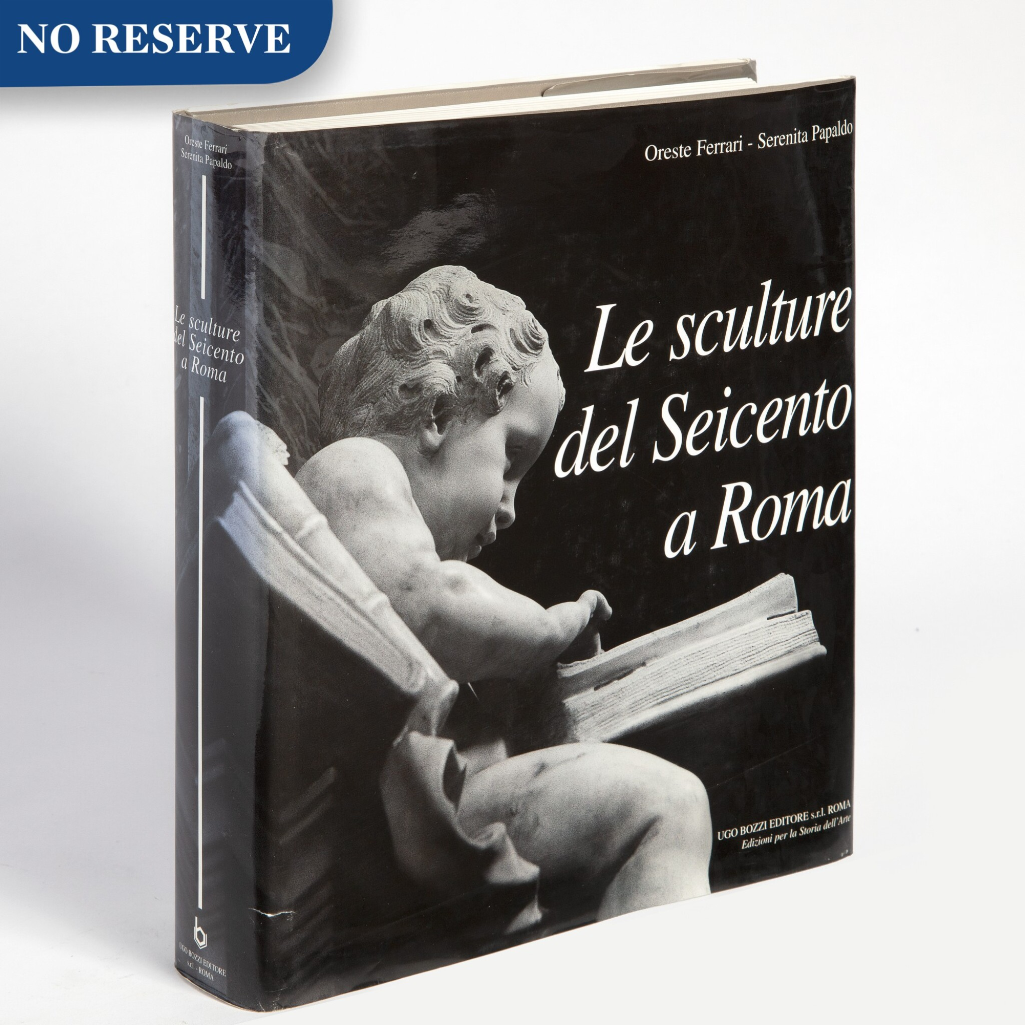 A selection of books on Italian Baroque sculptors