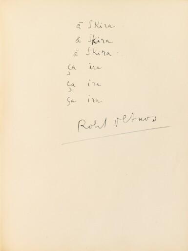 View 2. Thumbnail of Lot 167. Les Sans cou. 1934. 1/130 ex. Eau-forte originale de Masson. Envoi a.s. de Desnos à Skira.