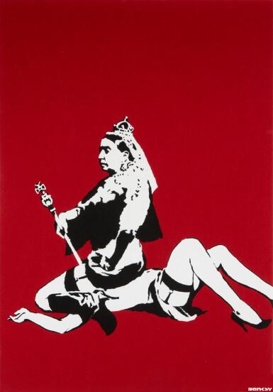 BANKSY | QUEEN VIC