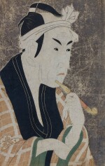 TOSHUSAI SHARAKU (ACTIVE 1794–1795), EDO PERIOD, LATE 18TH CENTURY | MATSUMOTO KOSHIRO IV AS THE FISH PEDDLER GOROBEI