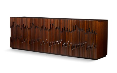 View 1. Thumbnail of Lot 187. LUCIANO FRIGERIO | SIDEBOARD FROM THE NORMAN SERIES.