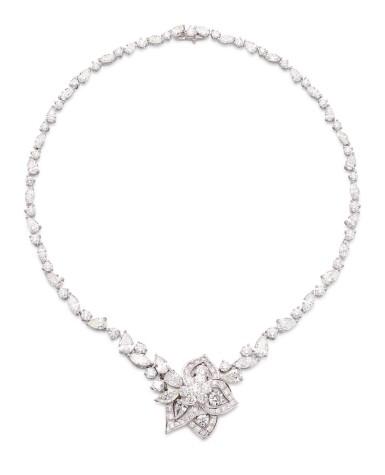View 2. Thumbnail of Lot 1063. 'Peony' Diamond Necklace | 格拉夫| 'Peony' 鑽石項鏈 (鑽石共重約28.30克拉).