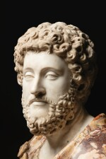 ITALIAN, 17TH CENTURY, AFTER THE ANTIQUE   BUST OF EMPEROR COMMODUS (161-192 C.E.)