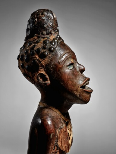 View 4. Thumbnail of Lot 75. Kongo Power Figure, Democratic Republic of the Congo.